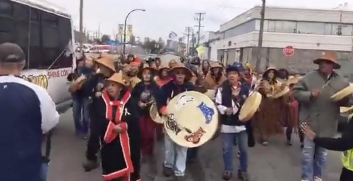 Wild Salmon Caravan FB Live Streams From Vancouver2017.