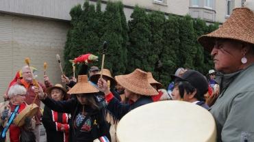 Parade Drum Sticks Up