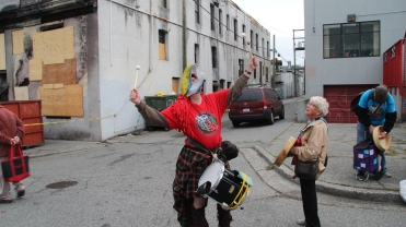 Salmon Costume and Drum
