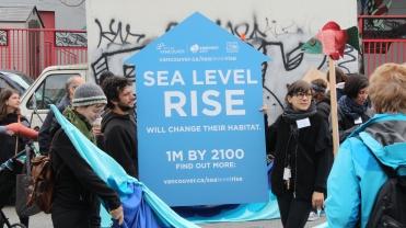 Sea Level Rise Sign