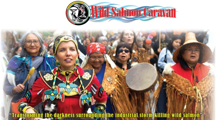 Wild Salmon Caravan Photo Exhibit and Brochure
